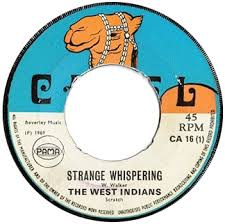 Strange Whispering on the Camel label - 1969