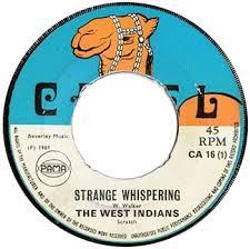 Strange Whispering on the Camel label - 1969