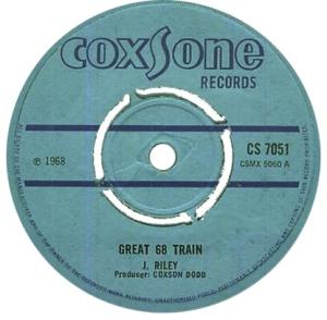 Three Tops Great 68 Train
