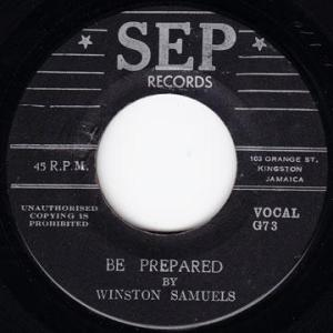 Winston Samuels-Be Prepared