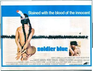 soldier blue landscape poster