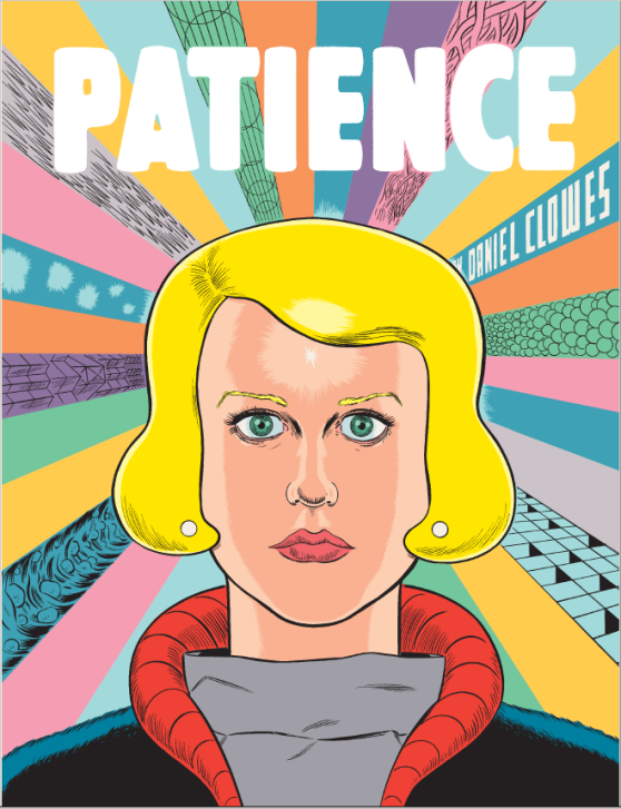 The cover of Patience shows us a brighter Daniel Clowes